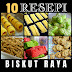 10 Resepi Biskut Raya Popular 2021