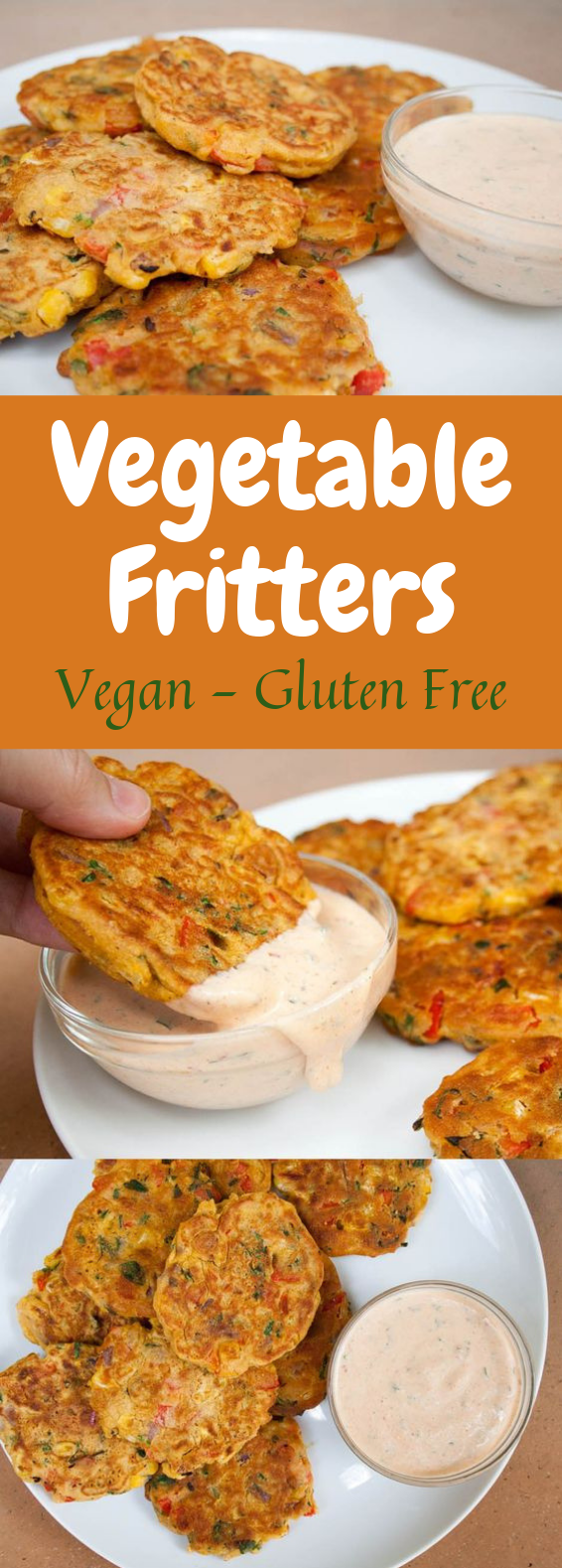 THE MOST AMAZING VEGETABLE FRITTERS #Vegetarian #Meal