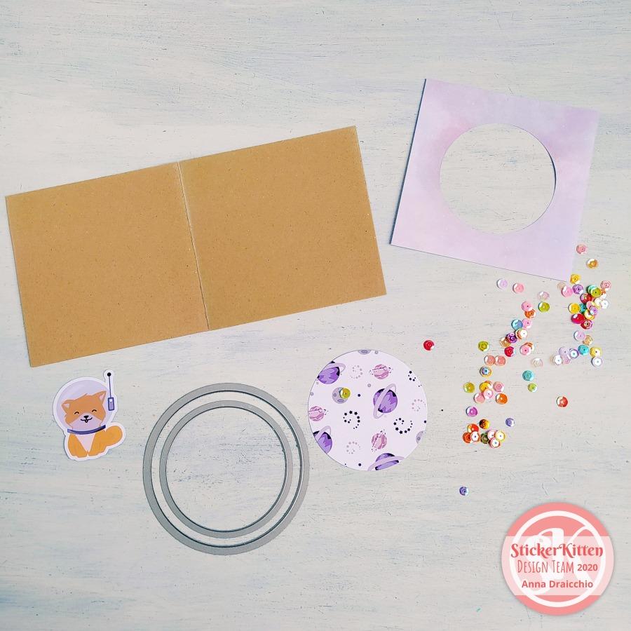 Consigli e tecniche per Shaker Card - StickerKitten Design Team