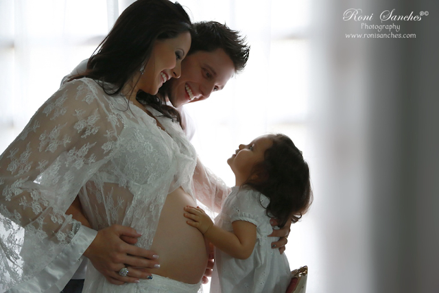 posta nova foto de ensaio grávida