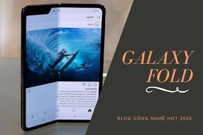 Điện thoại màn hình gập - Galaxy Fold