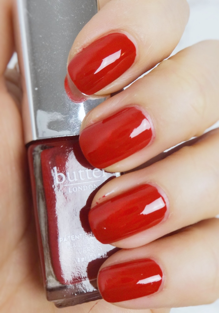 Her Majesty's Red swatch NOTD