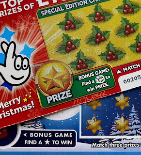 Christmas Scratchcards 2019