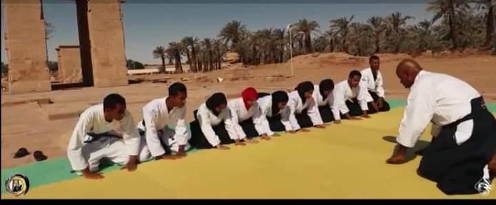 بالفيديو    أبطال الأيكيدو بالوادى الجديد في محراب الحضارة الفرعونية
