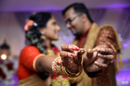 Shathish & Padmini ~ Engagement ( 12 Photos )