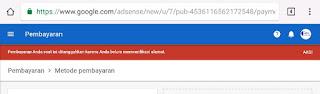 Cara Melakukan Verifikasi PIN di Akun Adsense