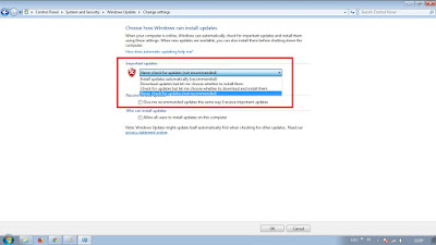 Cara Mematikan Auto Update di Windows 7