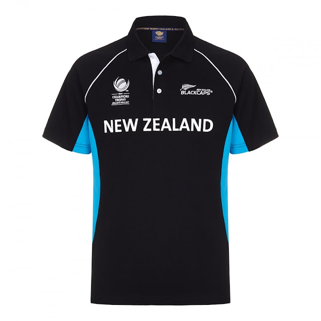 Champions Trophy 2017 New Zealand Jersey Image