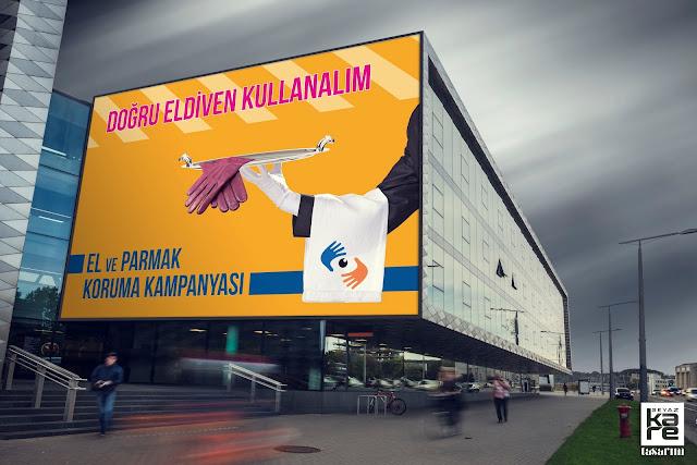 kampanya için billboard tasarımı
