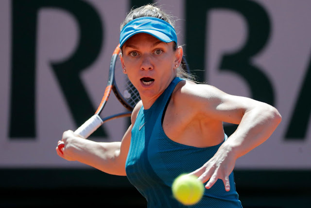 simona halep vs garbine muguruza roland garros 2018 rezumat video halep vs muguruza youtube video wta highlights halep vs muguruza french open 2018 video youtube simona halep se califica in finala roland garros 2018 video halep rg 18 youtube Simona Halep vs Garbine Muguruza - Semi-Final Highlights I Roland-Garros 2018