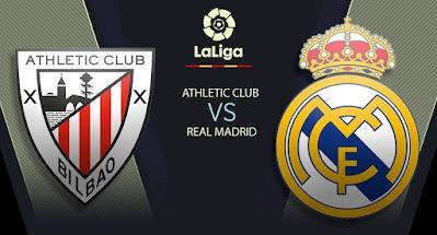 مشاهدة مباراة ريال مدريد ضد اتليتك بلباو 16-05-2021 بث مباشر في الدوري الاسباني
