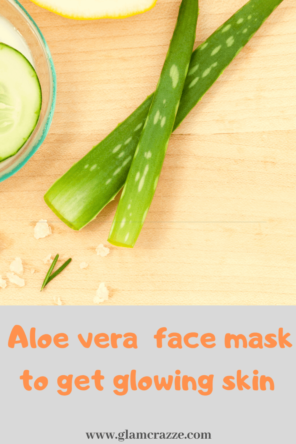 How to use aloe vera on face and dark knuckles