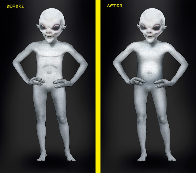 BUTTERFINGER Alien #characterdesign