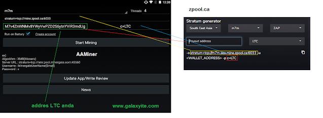 Cara Menggunakan AA miner Menambang Bitcoin di Smartphone