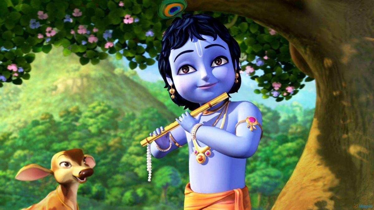 krishna-enjoiyng-life