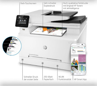 HP Color Laserjet Pro MFP M281fdw Treiber download