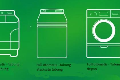 Mengenal Jenis-Jenis Mesin Cuci dan Perbedaannya