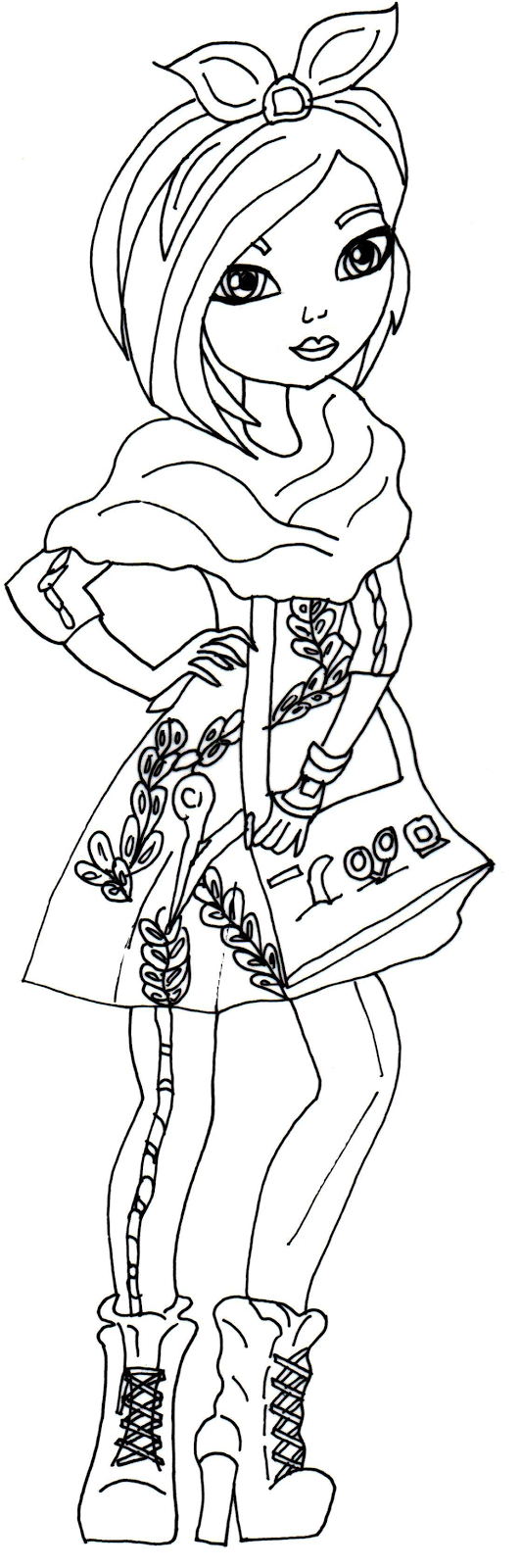 Free Printable Ever After High Coloring Pages Poppy O
