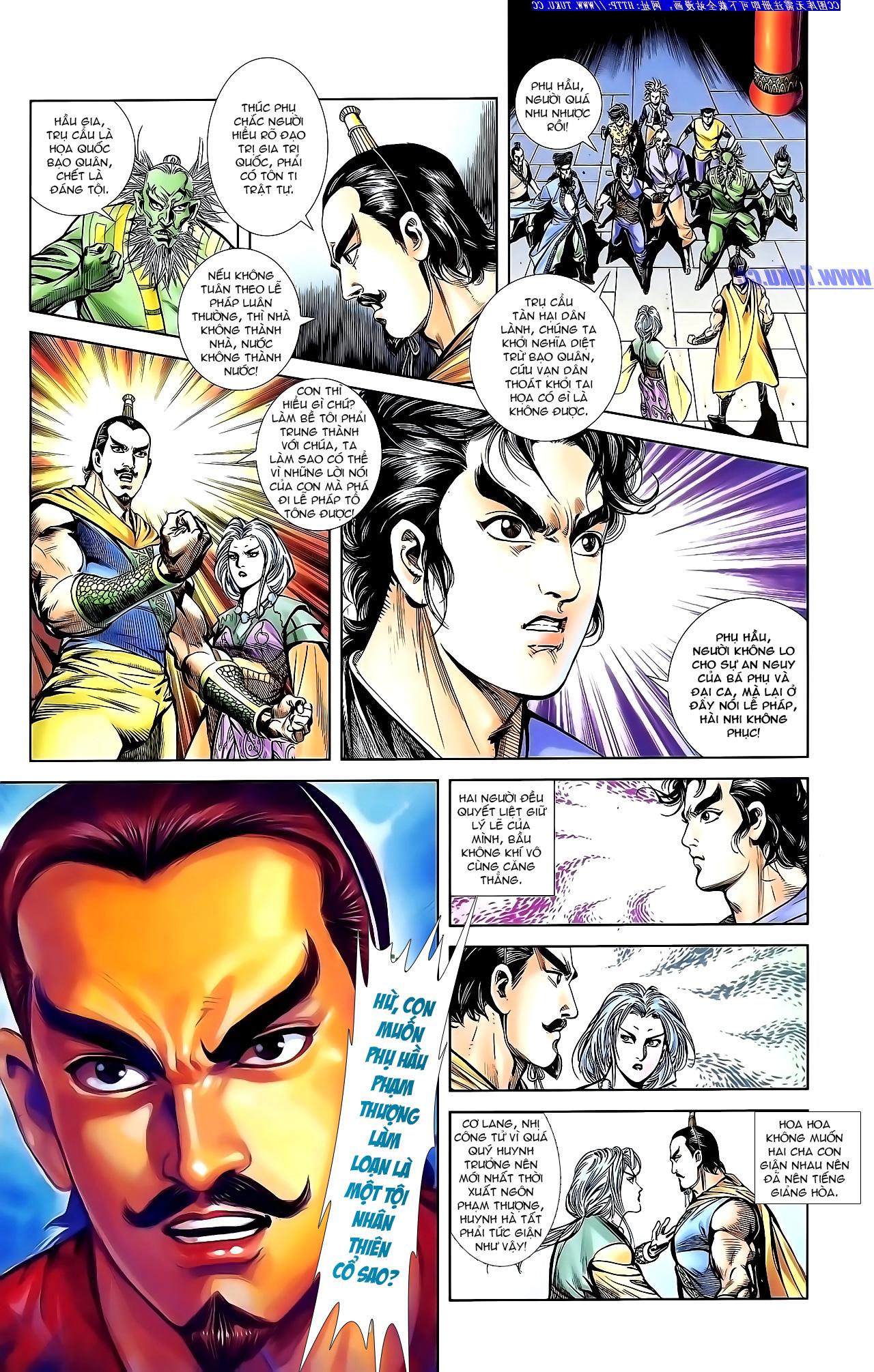 Cơ Phát Khai Chu Bản chapter 144 trang 21