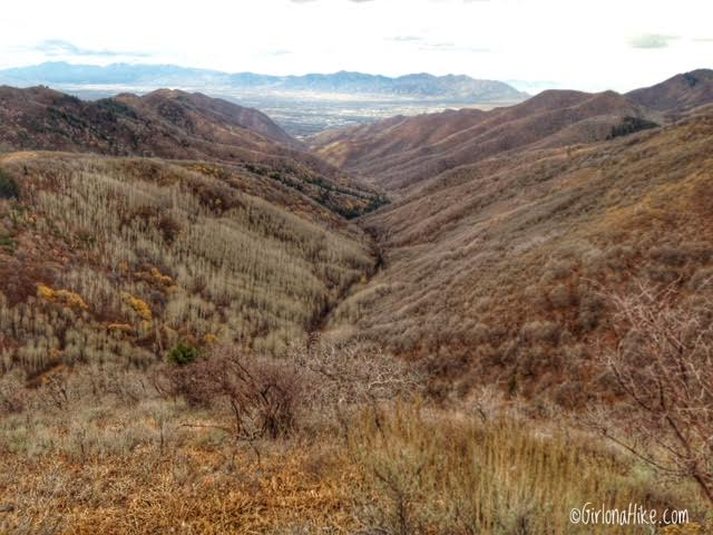 Hiking the Emigration Canyon Miners Trail