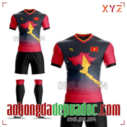 Áo Việt Nam 2020 Training 3 Màu Đỏ Đen Đẹp Và Độc