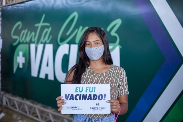 Santa Cruz terá novo mutirão de vacinação da covid-19 nesta quinta-feira (7)