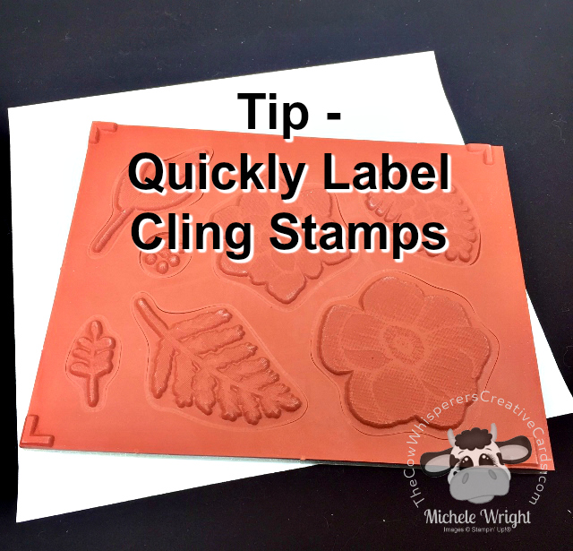 Tip, Clink Stamp, Labels, Stampin Up