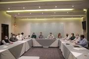 Analizan Comisiones Políticas del PRD y del PRI, candidaturas para Distritos Locales