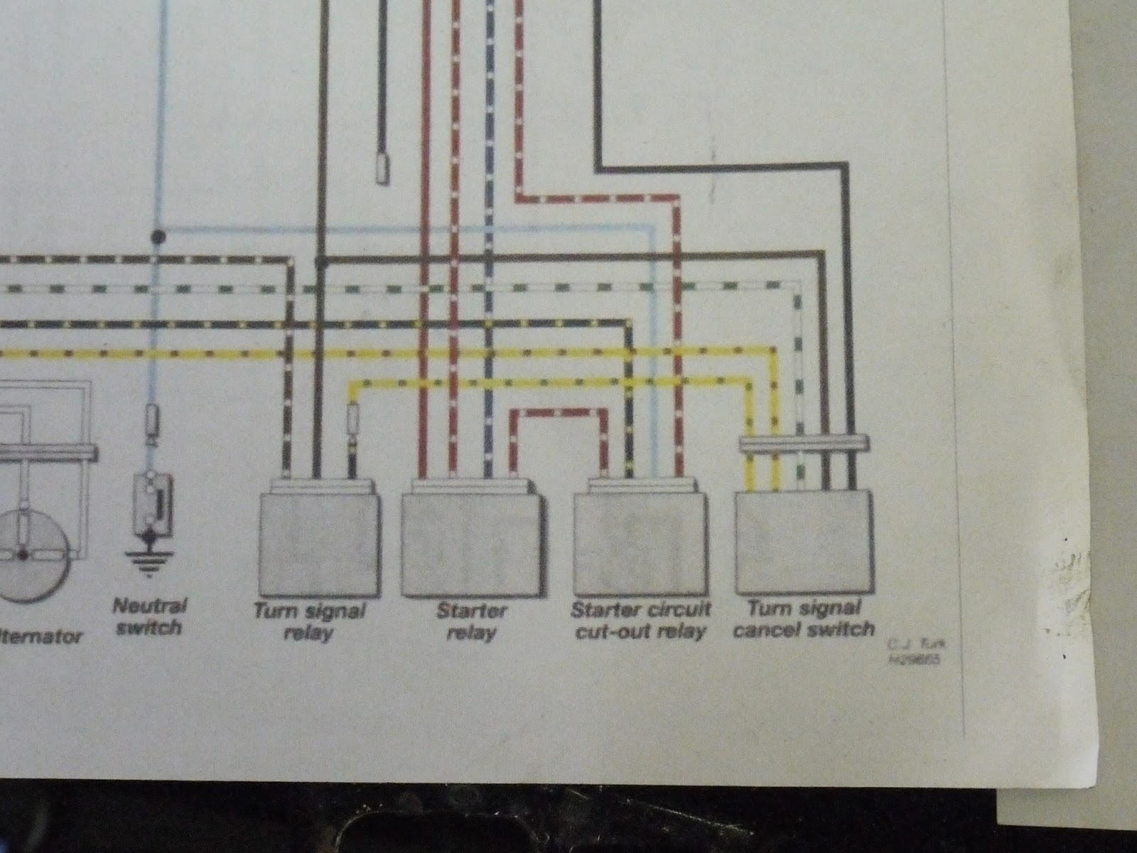 hight resolution of the solenoid on the right is the one we want to eliminate the light blue cable comes down from the neutral switch and the black and yellow one from the