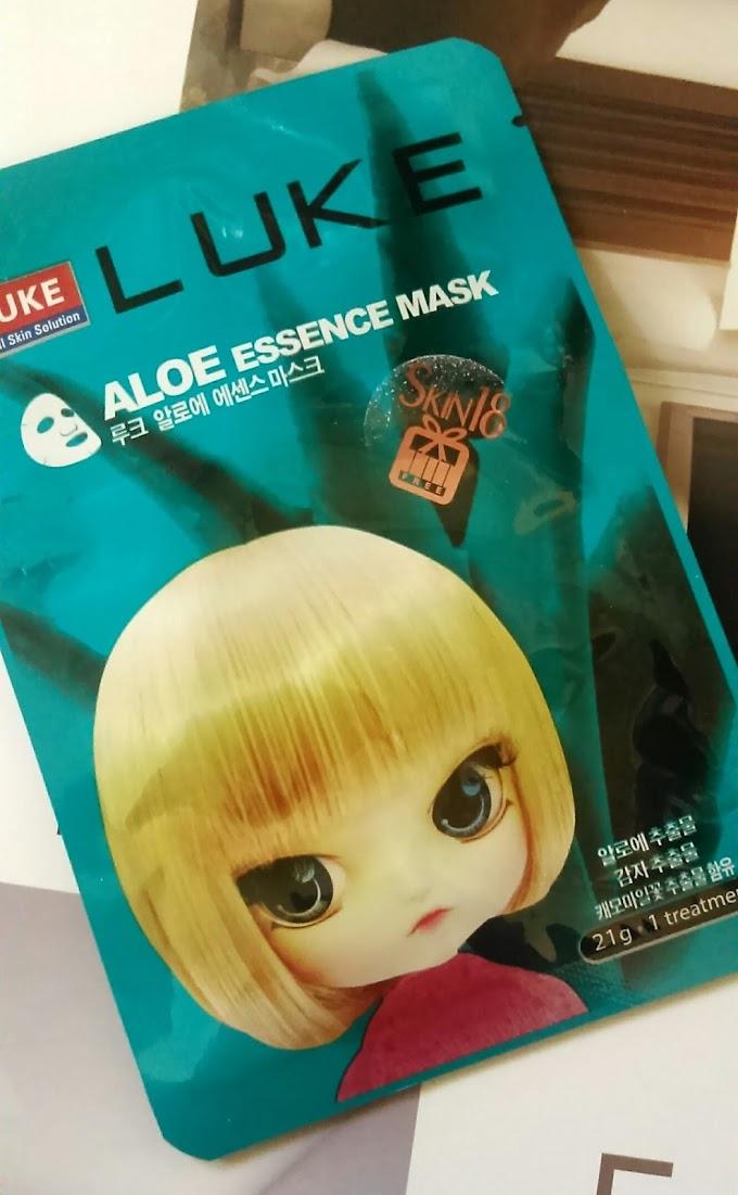 Luke Aloe Essence Mask (Super Moisturizing) Skin18.com Review