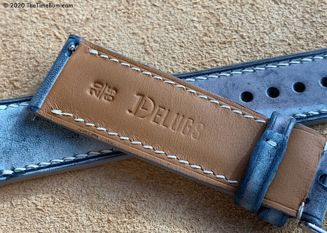 Delugs Watch Straps blue camouflage