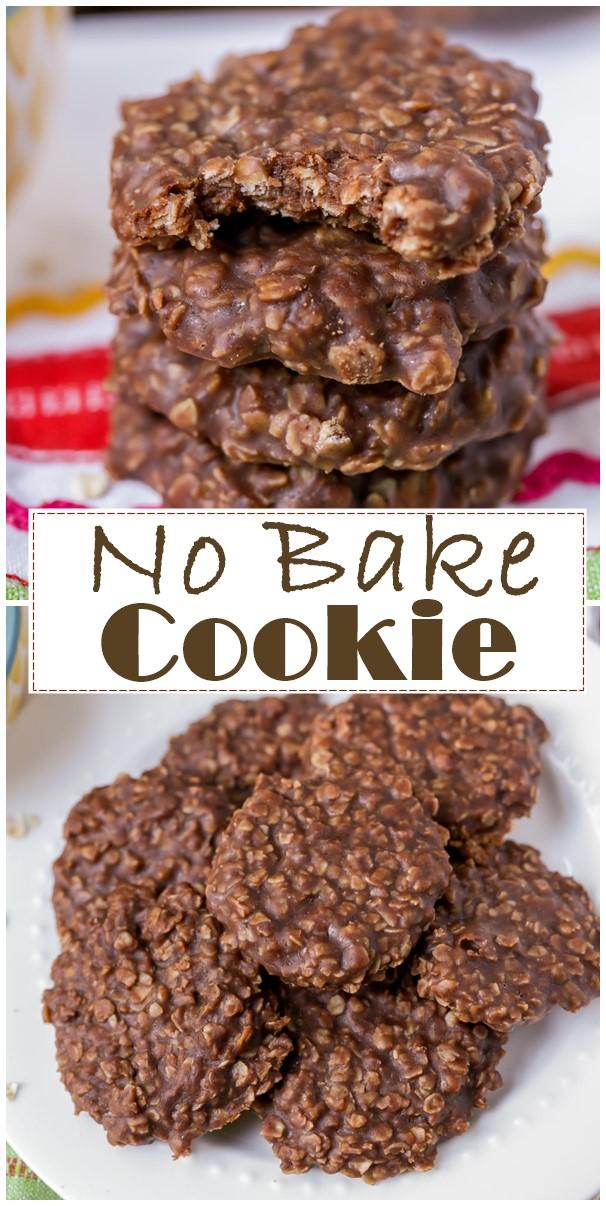 No Bake Cookie Recipe #cookiesrecipes