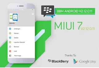 Download BBM MIUI 7 Mod Versi 2.12.0.11 Apk terbaru