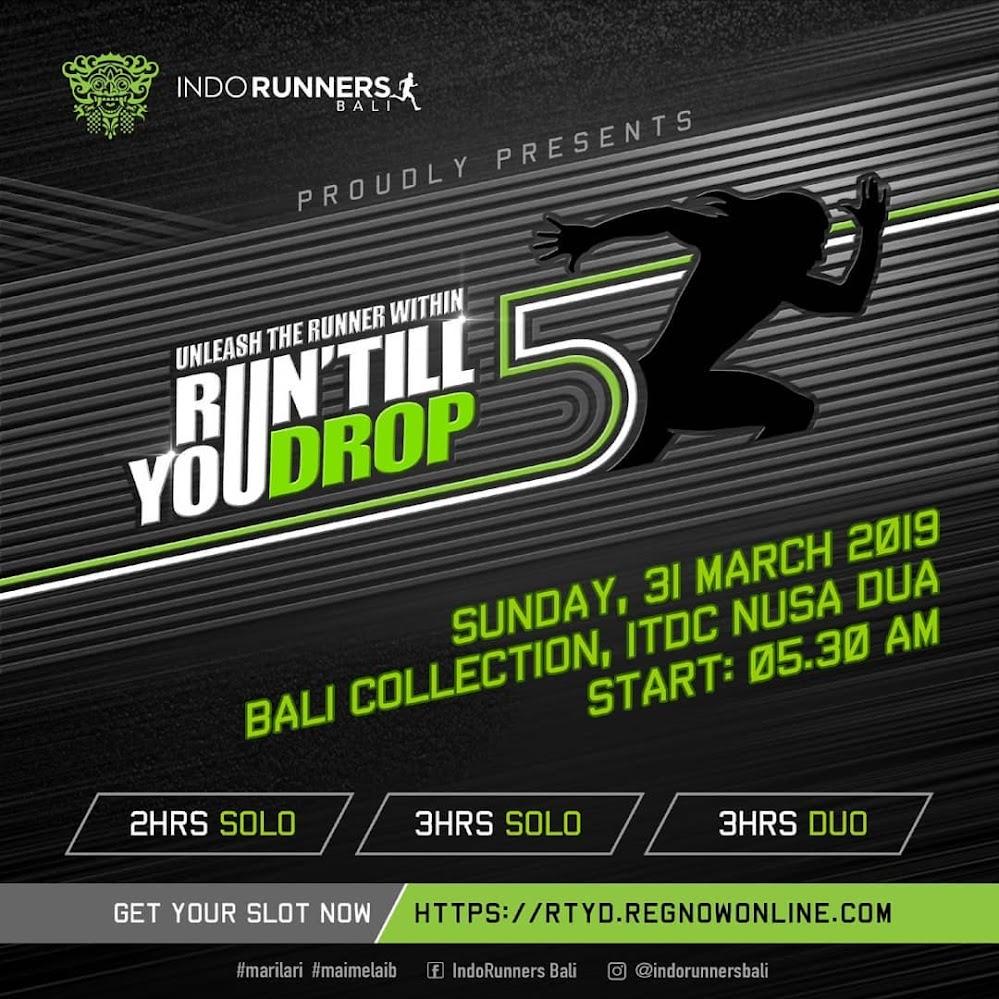 Run Till You Drop 5 • 2019