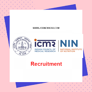 ICMR-NIN Recruitment 2020 for Research Associate, Consultant & Computer Programmer