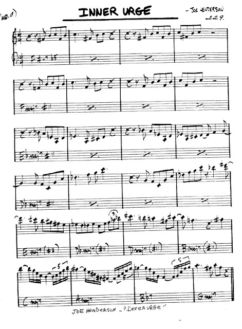 Partitura Armónica Joe Henderson