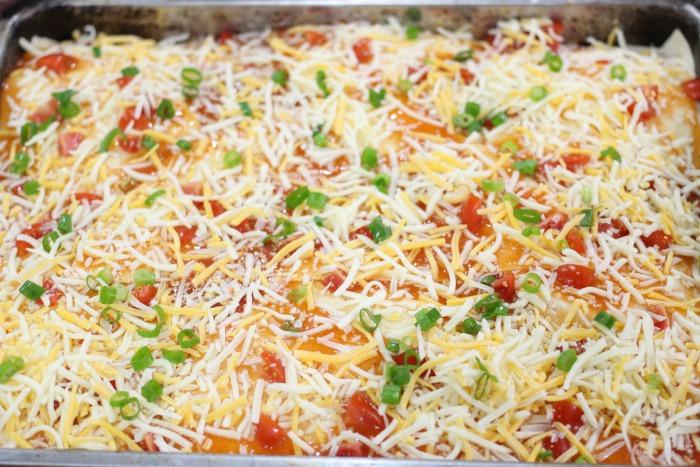 Deep Dish Taco Bell Mexican Pizza Casserole Bake Recipe