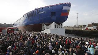 """""""Siberia"""". Το μεγαλύτερο πυρηνοκίνητο παγοθραυστικό στον κόσμο. (ΒΙΝΤΕΟ)"""