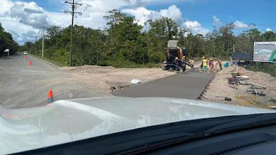 Aseguran pavimentación de 3.5 kilómetros faltantes de la vía Lloro Yuto.