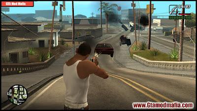 GTA San Andreas Shoot Stuff  (Shoot Car Cleo Mod) For Pc Free Download