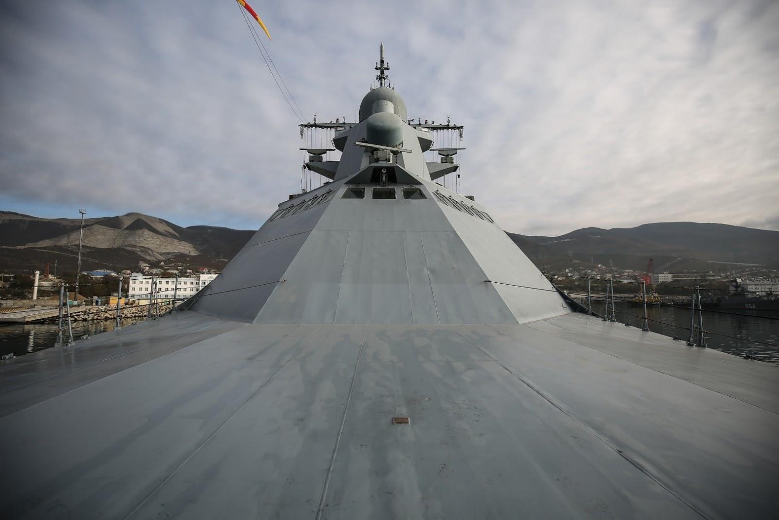 Чорноморський флот РФ отримав новий патрульний корабель проєкту 22160