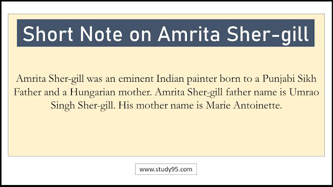 Short Note on Amrita Shergill - Study95