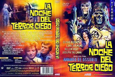 Carátula dvd: La noche del terror ciego