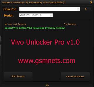 Vivo Unlocker Pro Tool v1.0