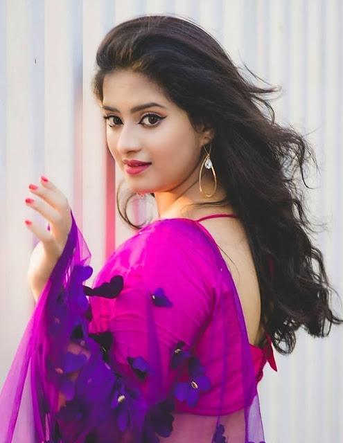 Bollywood Model Priyanka Latest Pics In Saree Navel Queens
