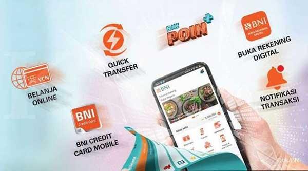 2 Rekening Untuk 1 BNI Mobile Banking