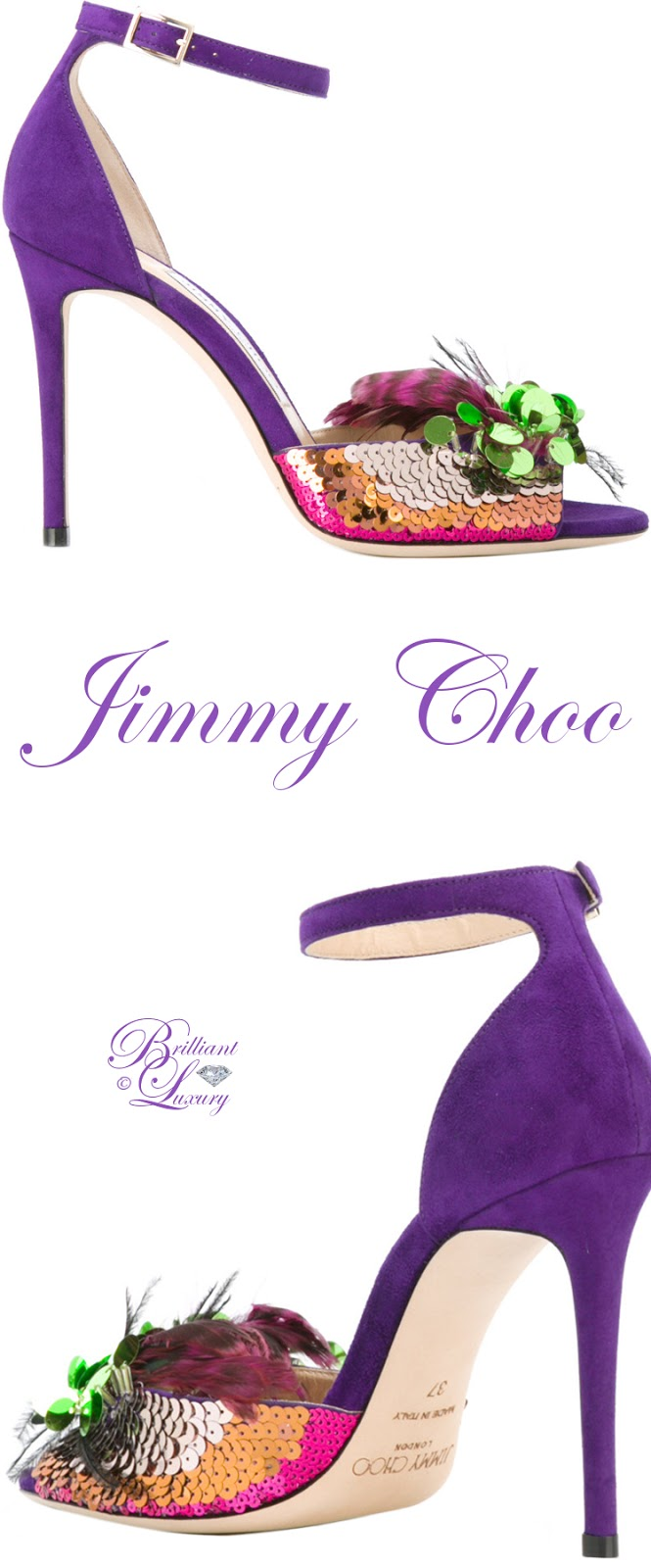 Brilliant Luxury ♦ Jimmy Choo Annie Sandals