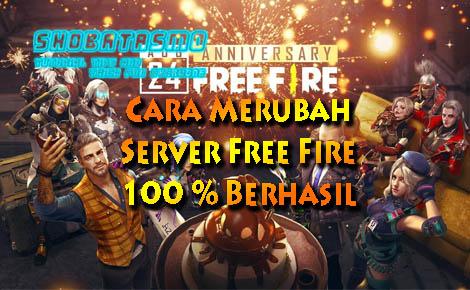 Cara Merubah Server Free Fire
