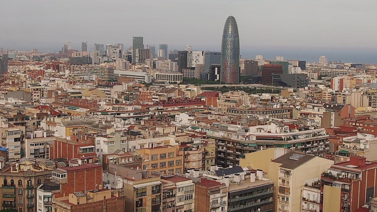 Barcelona desde la Torre del Nacimiento