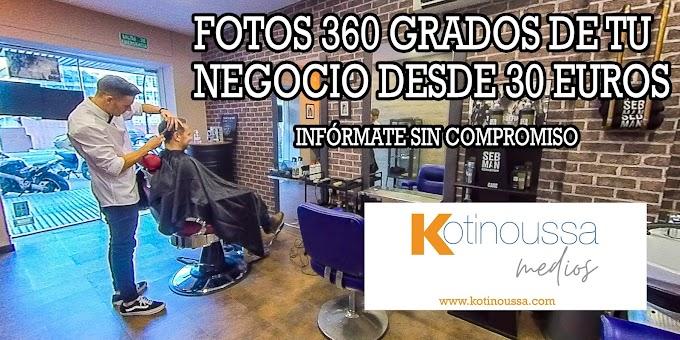 ¿Necesitas fotos 360 para tu negocio? Nosotros te las hacemos desde 30 euros